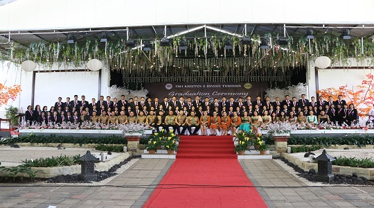 The Graduation of Class 2018